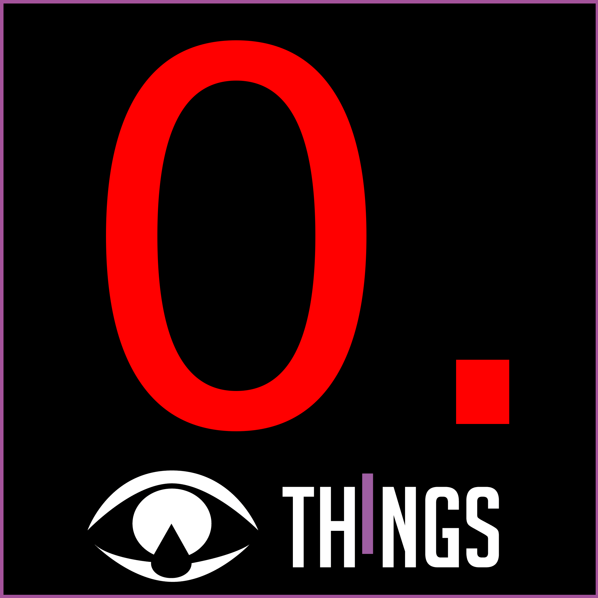 THINGS - it's alive V2 - front cover